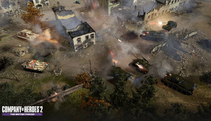 Buy Company of Heroes™ 2: The British Forces from the Humble Store