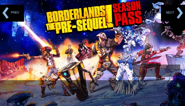 Buy Borderlands The Pre Sequel Season Pass From The Humble Store