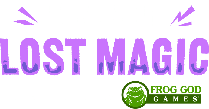 Humble RPG Book Bundle: Tomes of Lost Magic for 5th Edition by Frog God Games
