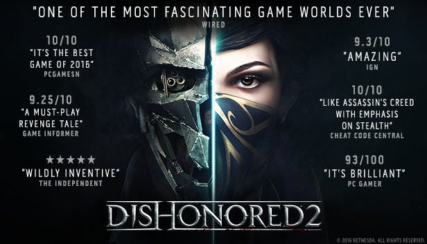 Buy Dishonored® 2 from the Humble Store
