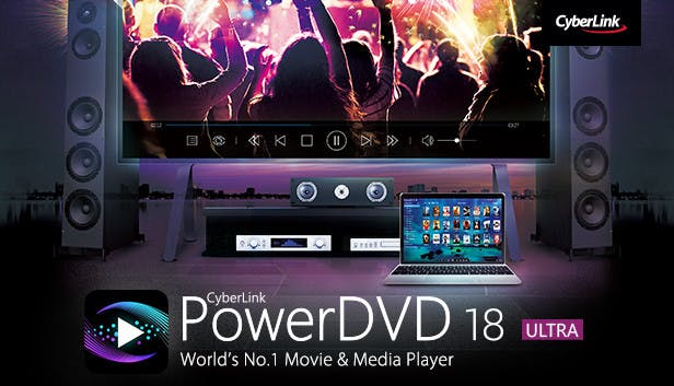 Buy CyberLink PowerDVD 18 Ultra from the Humble Store