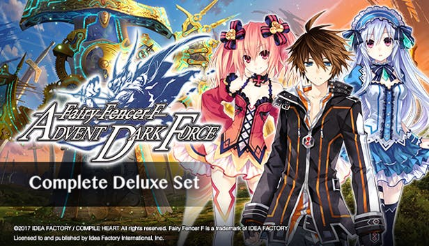 Buy Fairy Fencer F: Advent Dark Force Complete Deluxe Set from the Humble  Store
