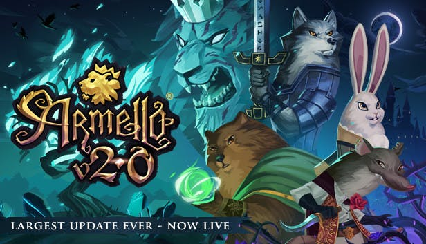 promo code d1c2b dddf2 Buy Armello from the Humble Store
