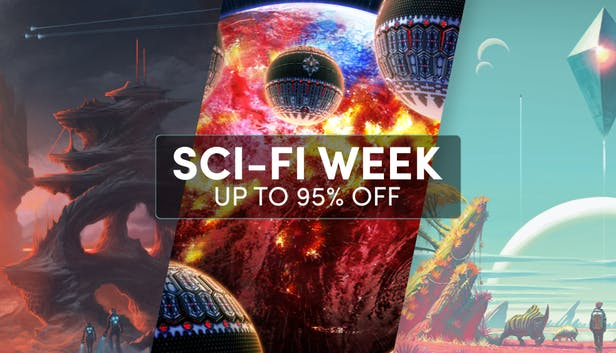 [Humble Store] Sci-Fi Week (Up to 95% off)