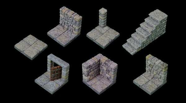 Humble Bundle: HUMBLE 3D PRINTABLE DUNGEONS & CITIES BUNDLE FOR 5E