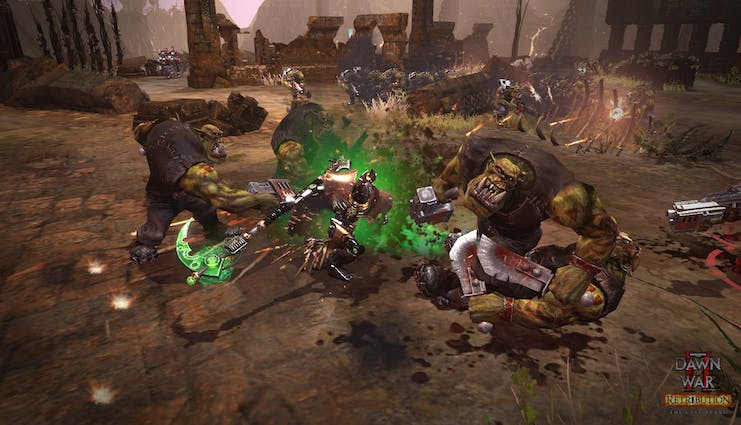 Buy Warhammer® 40,000™: Dawn of War® II - Retribution - The Last Stand  Necron Overlord from the Humble Store