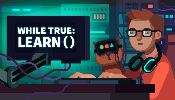 Buy while True: learn() from the Humble Store