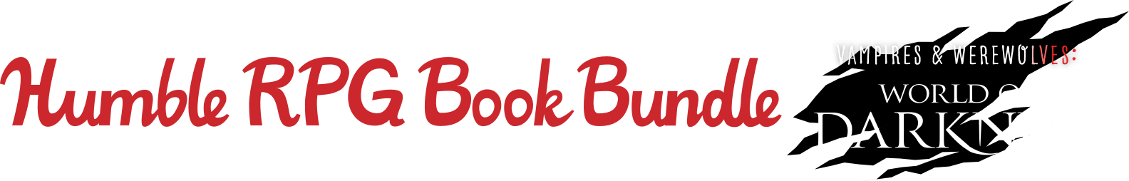 Humble RPG Book Bundle: Vampires & Werewolves - A World of Darkness