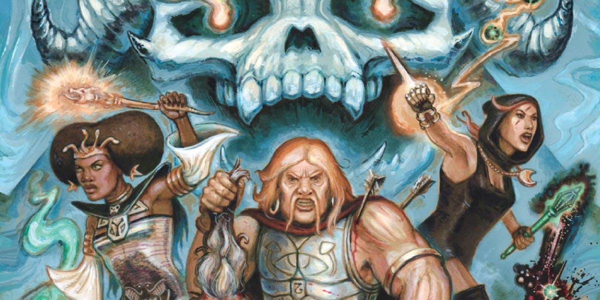 Get Dungeon Crawl Classics RPG, Dungeon Crawl Classics Annual and more!. Na HumbleBundle możesz wybrać jeden z kilku pakietów ebooków w języku angielskim. Czasem cena za najniższy pakiet to nawet 1 dolar. Oprócz tego możesz wesprzeć organizację charytatywną