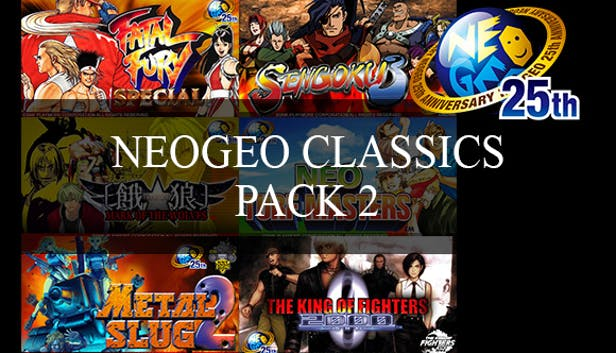 Buy NeoGeo Classics Pack 2 from the Humble Store