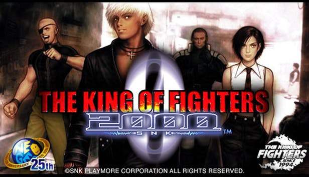 Buy the king of fighters 2000 from the humble store