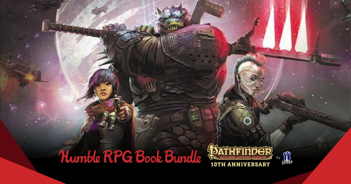 The Humble RPG Book Bundle: Pathfinder 10th Anniversary by Paizo