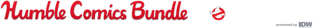 Humble Comics Bundle: Ghostbusters presented by IDW