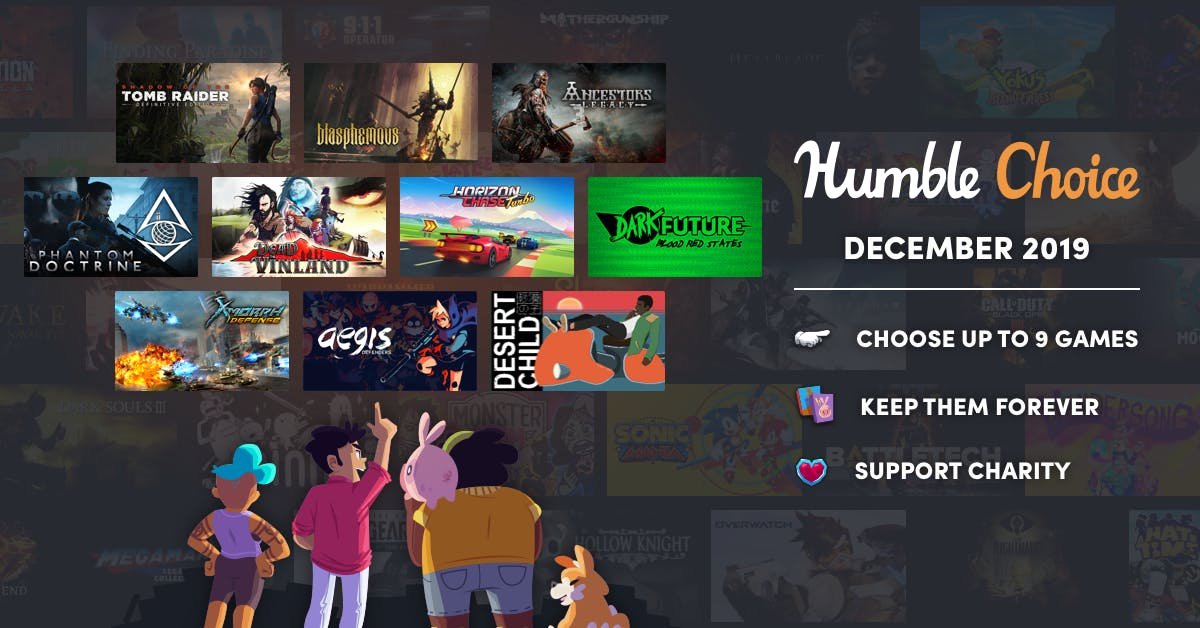 Humble Bundle Free Games 2020.Humble Choice Formerly Humble Monthly Humble Bundle