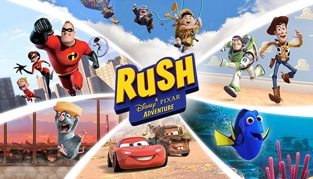 تحميل لعبة rush a disney pixar adventure