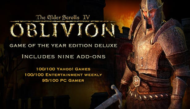 Buy The Elder Scrolls Iv Oblivion Game Of The Year Edition Deluxe From The Humble Store