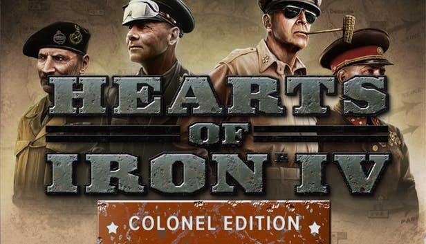 Buy Hearts of Iron IV: Colonel Edition from the Humble Store