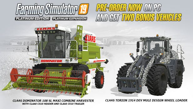 Buy Farming Simulator 19 - Platinum Edition from the Humble Store