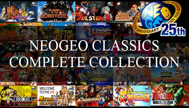 Buy NeoGeo Classic Complete Collection from the Humble Store