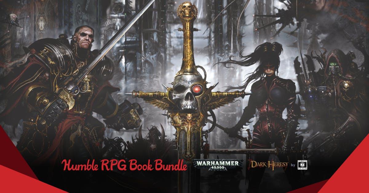 The Humble RPG Book Bundle: Warhammer 40,000 Dark Heresy by