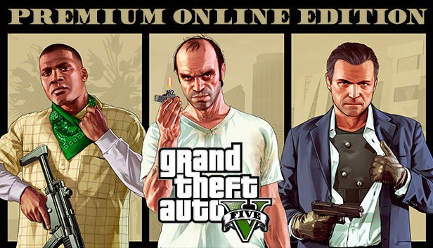 Buy Grand Theft Auto V: Premium Online Edition from the Humble Store