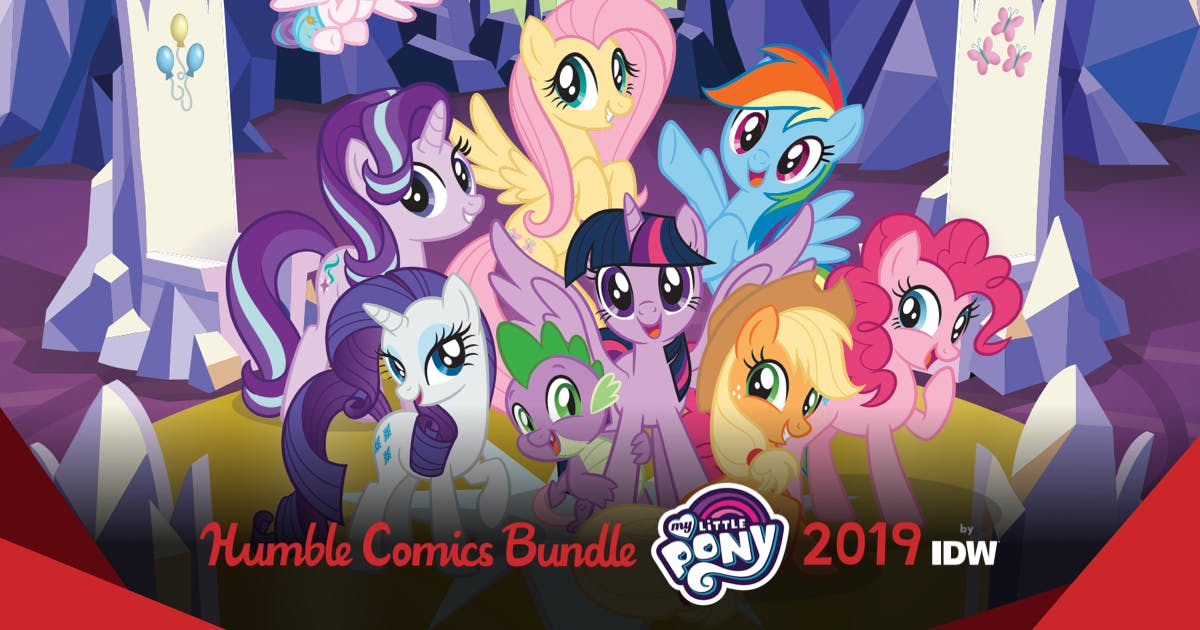 Humble Comics Bundle: My Little Pony 2019 by IDW (pay what you want