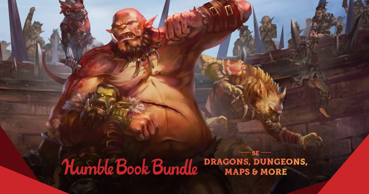 The Humble RPG Book Bundle: 5th Edition Fantasy – Dragons, Dungeons