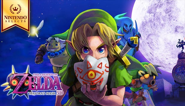 Buy The Legend of Zelda: Majora's Mask 3D from the Humble Store