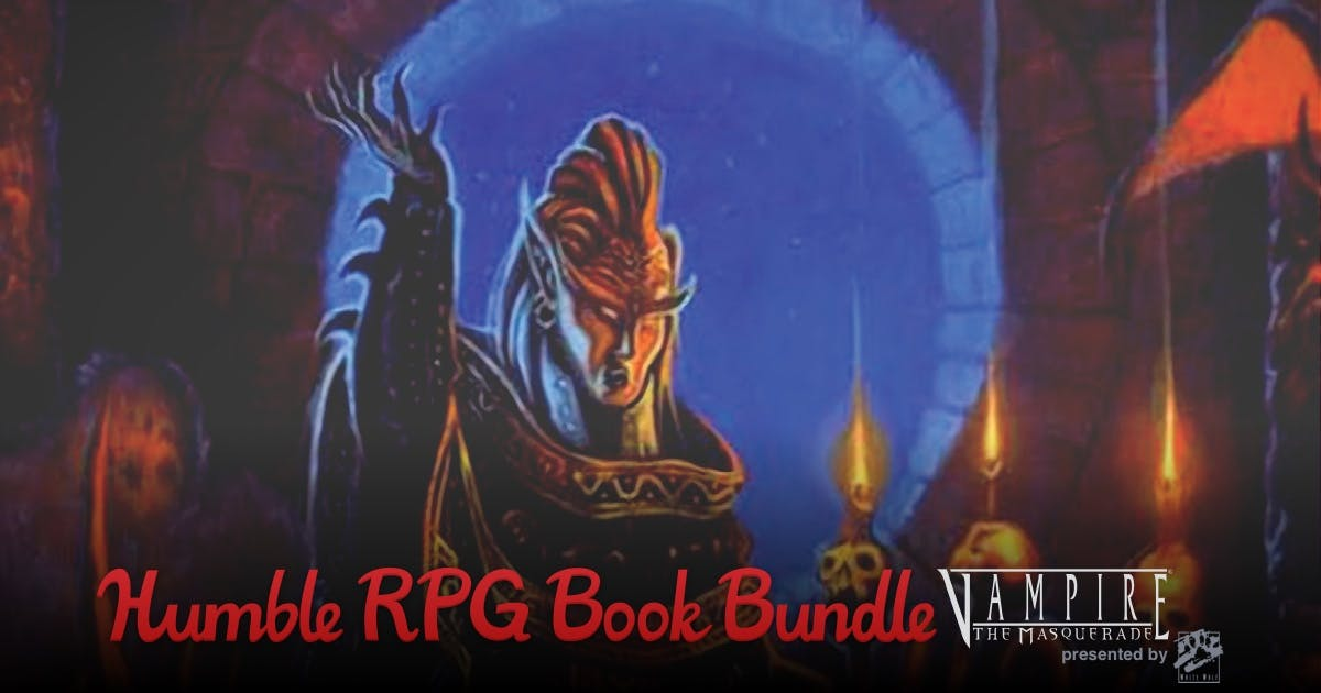 The Humble RPG Book Bundle: Vampire: The Masquerade