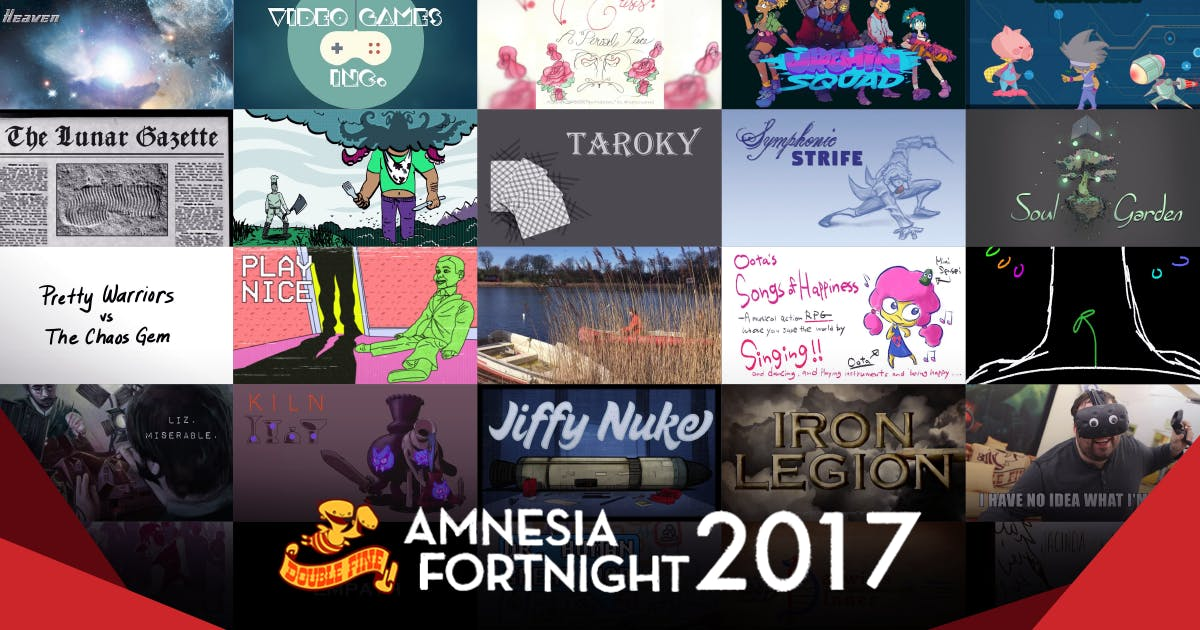 The Amnesia Fortnight 2017