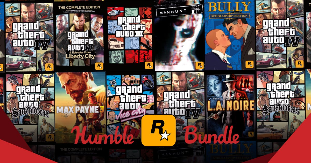 The Rockstar Games Humble Bundle