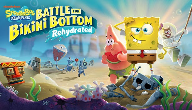 Buy SpongeBob SquarePants: Battle for Bikini Bottom - Rehydrated ...