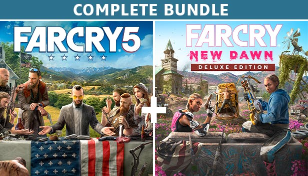 Buy Far Cry® 5 + Far Cry® New Dawn Deluxe Edition Bundle from the Humble  Store