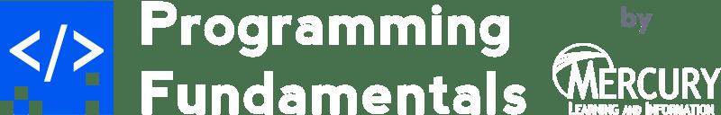 Humble Book Bundle: Programming Fundamentals by Mercury