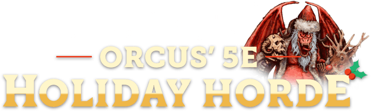 Humble RPG Book Bundle: Orcus' 5E Holiday Horde