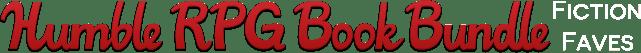 Humble RPG Book Bundle: Fiction Faves