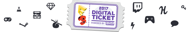 E3 2017 Digital Ticket