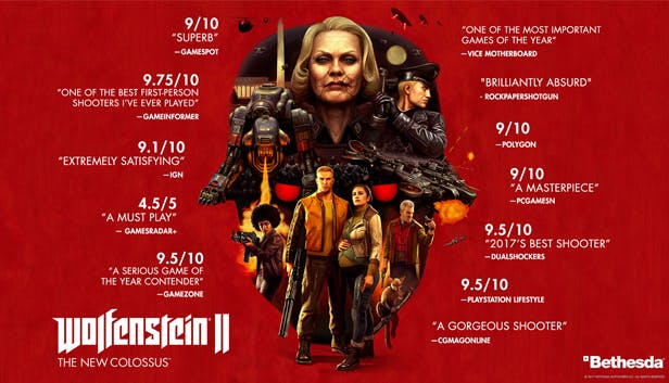 Buy Wolfenstein® II: The New Colossus™ from the Humble Store