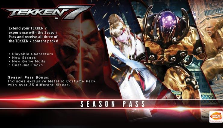 Buy Tekken 7 Season Pass From The Humble Store