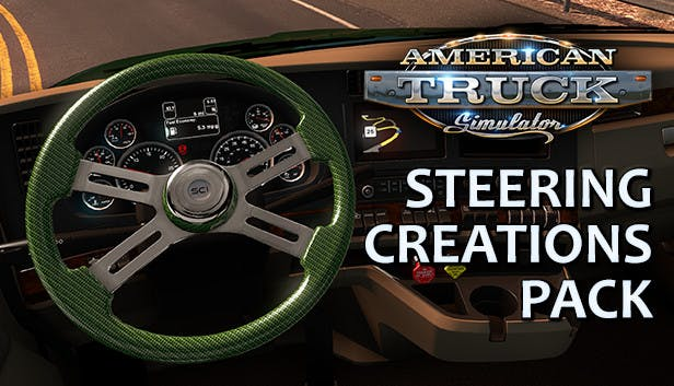 Buy American Truck Simulator - Steering Creations Pack from the Humble Store