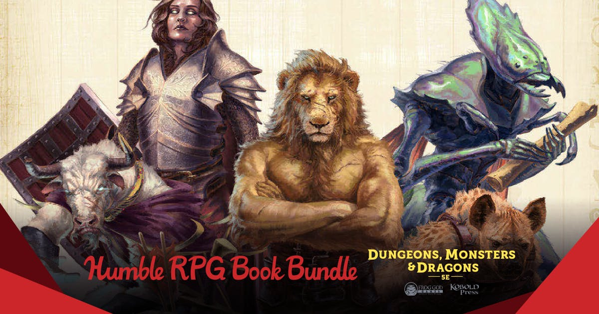 The Humble RPG Book Bundle: Dungeons, Monsters & Dragons 5E by Frog