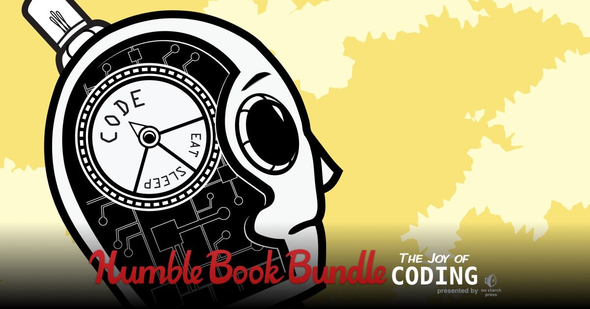 Humble Book Bundle: Joy of Coding presented by No Starch Press