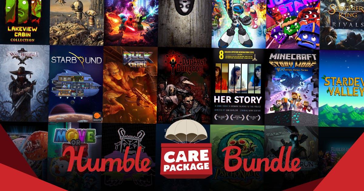 Humble Bundle Game Platform for PC and Mac Gamers