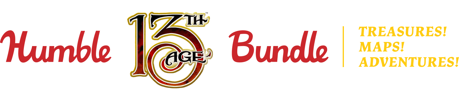Humble 13th Age Bundle: Treasures! Maps! Adventures!