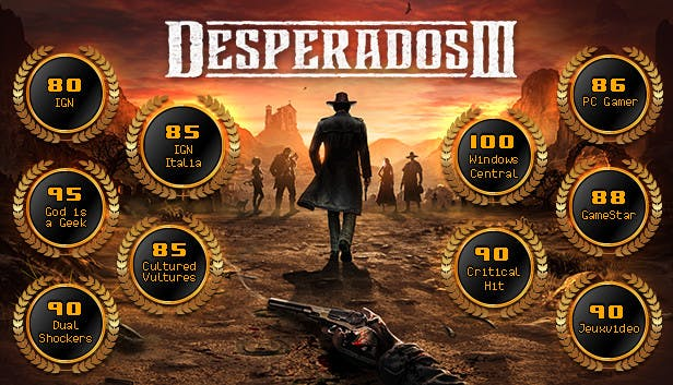 Buy Desperados Iii From The Humble Store