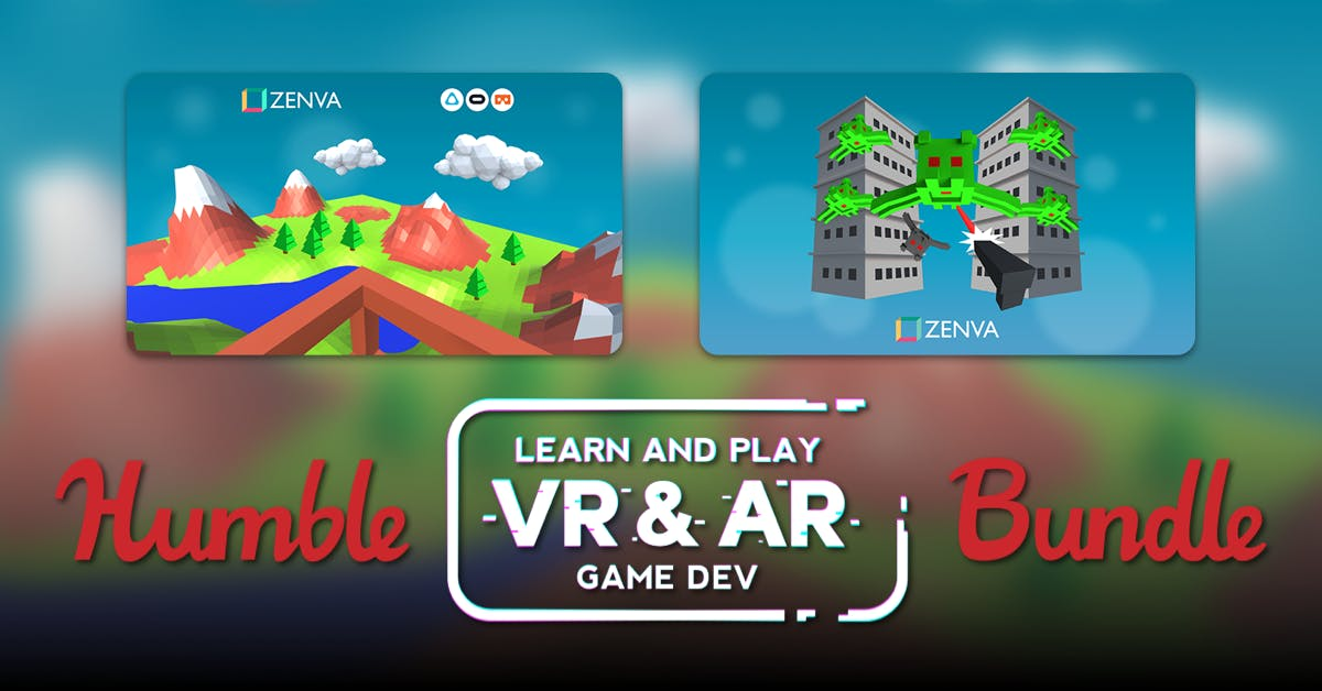 Humble Learn and Play VR-AR Game Dev Bundle (pay what you want and help charity)