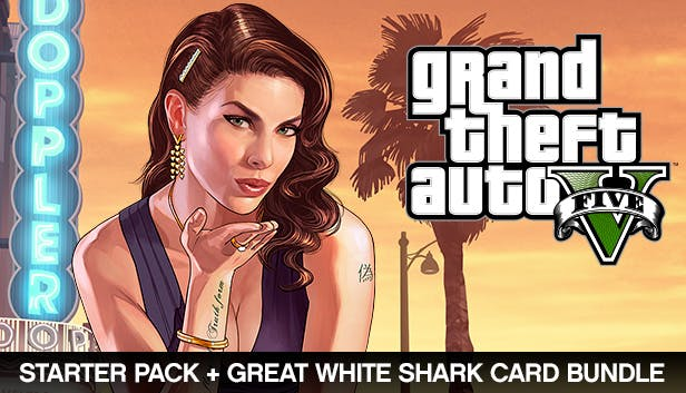 Buy Grand Theft Auto V, Criminal Enterprise Starter Pack and Great White  Shark Card Bundle from the Humble Store