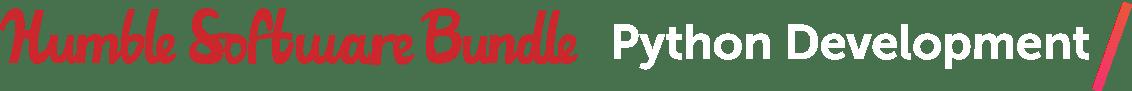 Humble Software Bundle: Python Development
