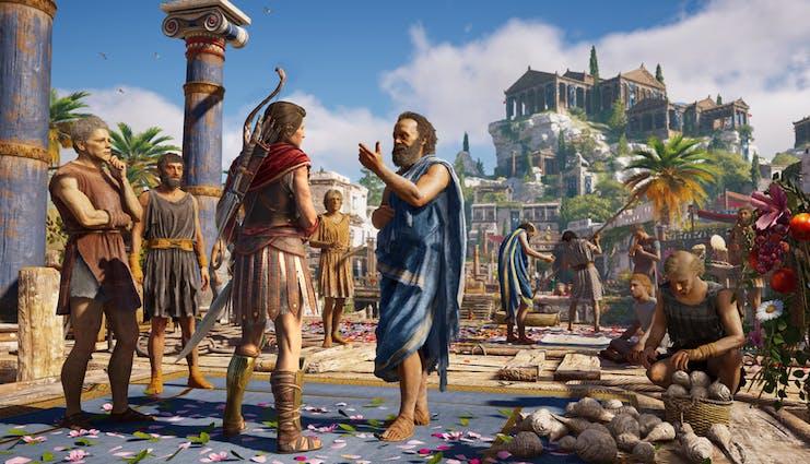 Bildresultat för Assassins creed Odyssey