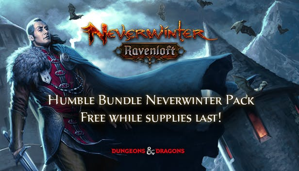 Humble Bundle Neverwinter Pack FREE for a limited time.